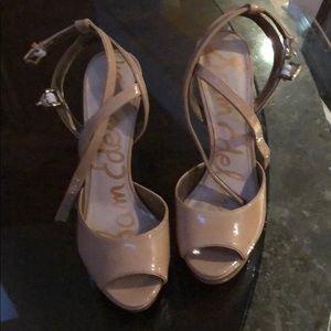 Sam Edelman strappy platform heels
